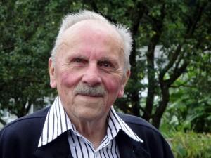 Der Langnauer Schriftsteller und Kunstsammler Hans Ulrich Schwaar wandert im 91. Lebensjahr nach Lappland aus. © zvg